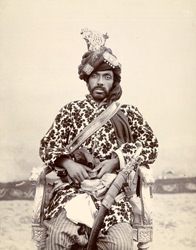 KALAT: Sir Mir Mohammad Khan, Khan (ruling chief) of Kalat (1864-1931).